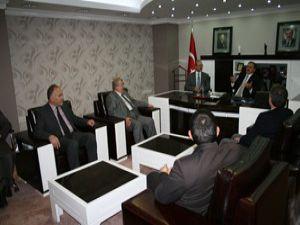 Bakan Eroğlu Başkan Sorgunu ziyaret etti