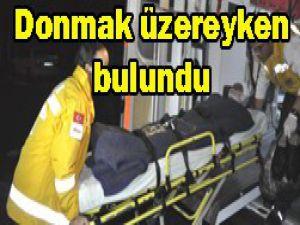 Şahıs hastaneye kaldırıldı