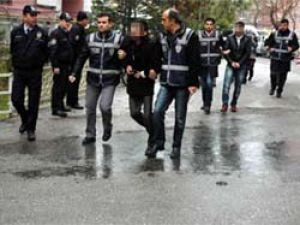Konyada ki operasyonda 9 tutuklama