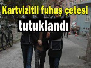 Konyadaki 9 kişilik çete tutuklandı