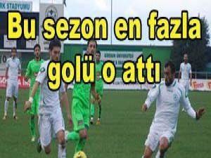 Konyasporun en golcü ismi