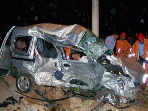 Konyada feci kaza: 3 ölü 2 yaralı
