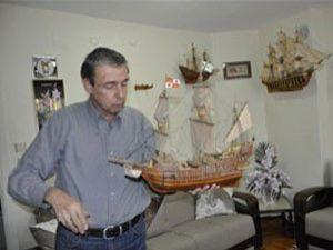 Kıbrıs gazisi, emekli işçinin savaş gemisi merakı