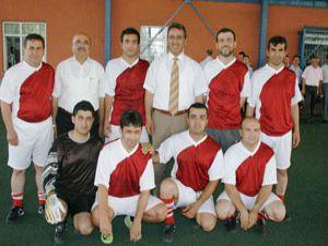 Birimler arası futbol turnuvası start aldı