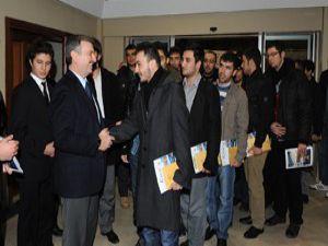 Başkan Konyalı öğrencilerle bir araya geldi