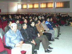 Akörende nohut sektörü eğitim toplantıları başladı