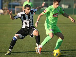 Konyaspor, Altayla hazırlık maçı yaptı