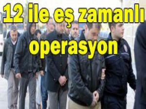 Suç örgütü operasyonu: 60 gözaltı