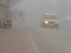 Yunak ve Çeltikte yoğun sis uyarısı