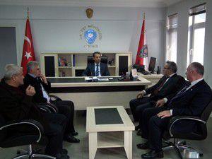 AK Parti Akşehir yönetimi ziyaret turunda