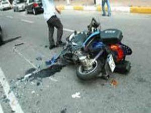 Konyada motosiklet kazası: 2 ölü 1 yaralı