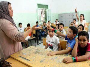 Libyada ders zili çaldı