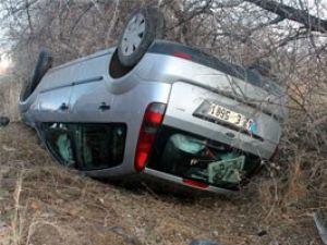 Konyada kaza: 4 öğretmen yaralandı