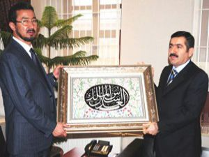 Afganistan Meclis Başkanı Konyada