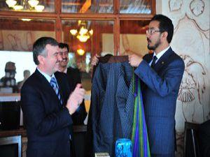 Başkan Akyürek Afganistan Heyetini ağırladı