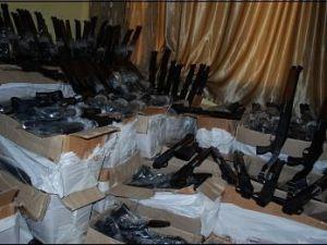 Beyşehirde 350 adet kaçak av tüfeği ele geçirildi