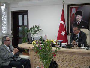 Akşehir Belediye Başkanı Oğula ziyaretler