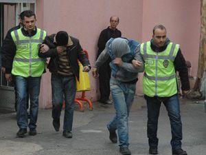Fabrikaya hasar veren hırsızlar tutuklandı