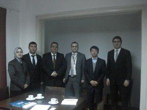 MEVKA Güney Kore Büyükelçiliği ziyaret etti
