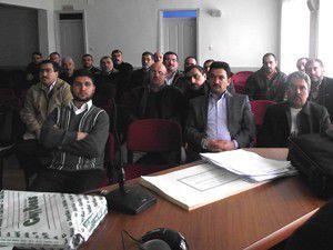 Din görevlilerine kadına şiddet eğitim semineri