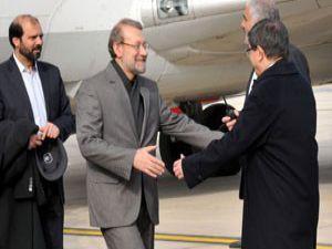 Davutoğlu ve Laricani Konyada