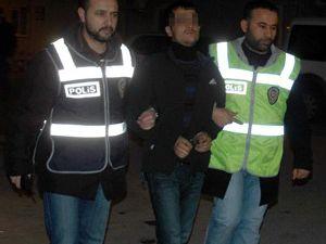 Konyada hırsız şüphelileri yakalandı