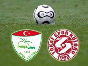 Konya Şekerspor 1 - Tokatspor 1