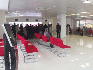 Karapınarda Ziraat Bankası yeni hizmet binasında