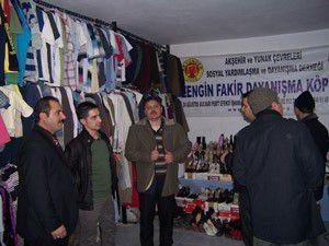 Akşehir Arasta esnafından Akyundere tam destek