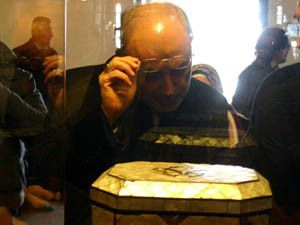 Ali Ekber Salihi Mevlanayı ziyaret etti
