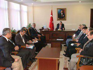 Kuluda komisyonlar toplandı