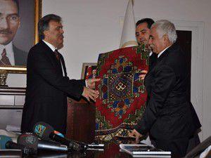 Abdullah Gül Aksarayda