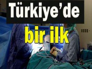 Türkiyenin ilk yüz nakli tamamlandı