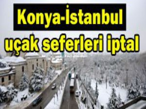 Konyada köy yolları ulaşıma kapandı