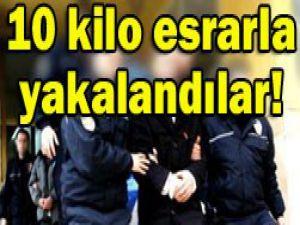 Konyada 4 şüpheli tutuklandı