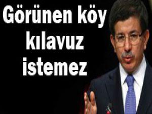Davutoğlundan Sarkozyye cevap