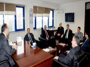 AKTİSAD Yönetimi, KSOya iadeyi ziyarette bulundu