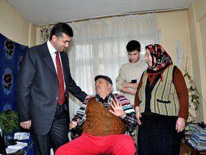 15 yıldır tekerlekli sandalyeye mahkumdu