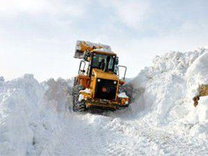 Konyadaki iki ilçede ulaşıma kar engeli