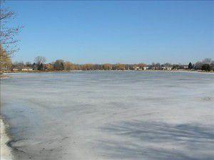 Buz çöktü!