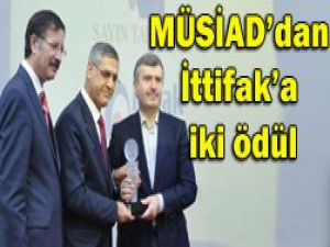MÜSİADdan İttifak Holdinge iki ödül