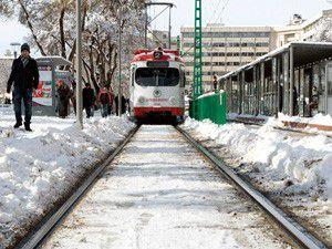 Konyada yoğun kar yağışı