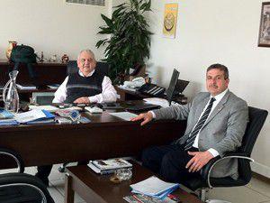 MEDAŞ Genel Müdürü Kazazoğluna ziyaret
