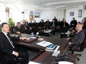 AK Partide yeni yönetim Taşcıyı ziyaret etti