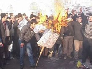 Konyadan Esede ateşli protesto
