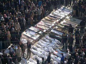 Humusta bombardıman devam ediyor: 15 ölü