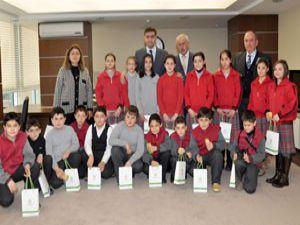 Başkan Kalaycıdan öğrencilere belediyecilik dersi