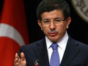 Davutoğlu ABD ve İsraili eleştirdi