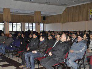 Sebeltaş çalışanlarına iş sağlığı semineri