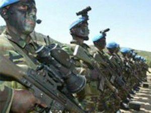 Profesyonel askerler görev başında